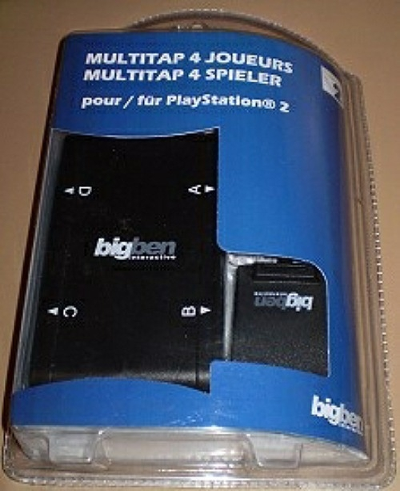 Multitap 4 igrača za PS2
